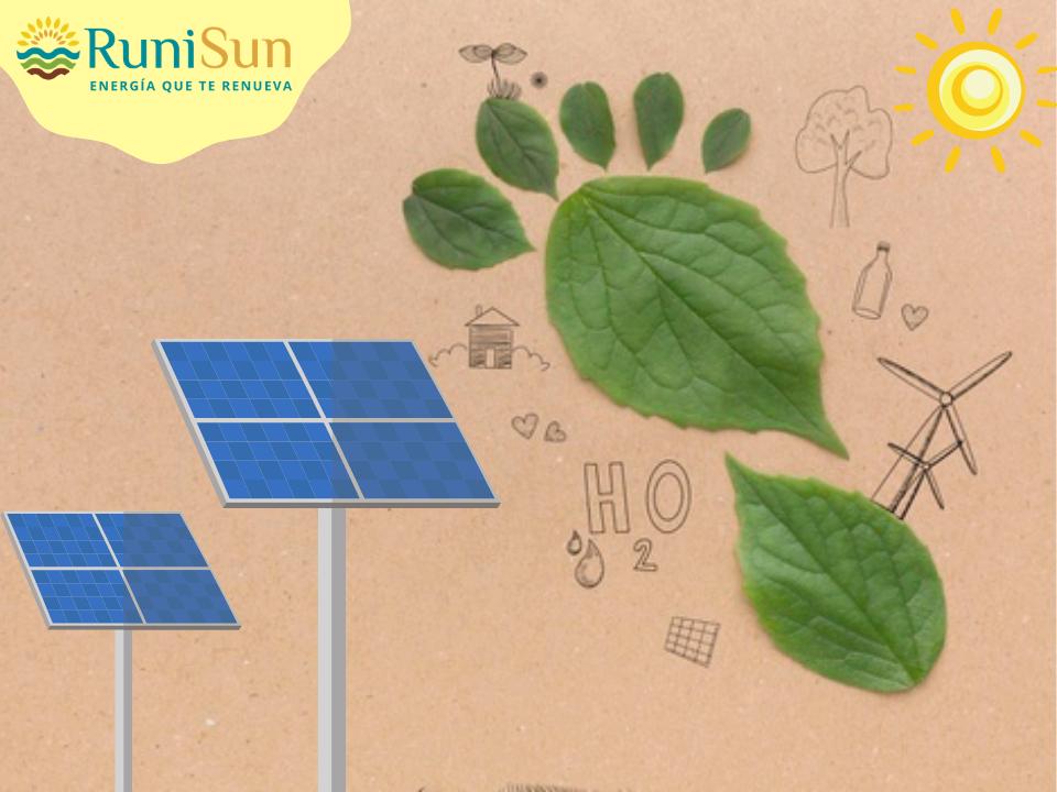 Huella ecológica Paneles Solares