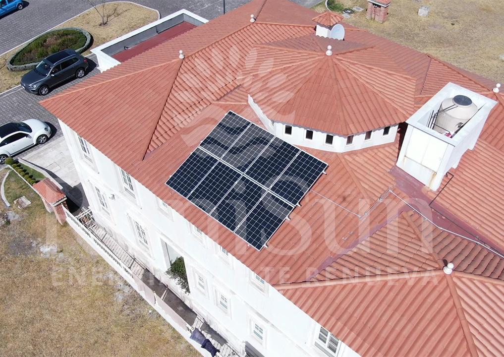 panel solar para casa runisun